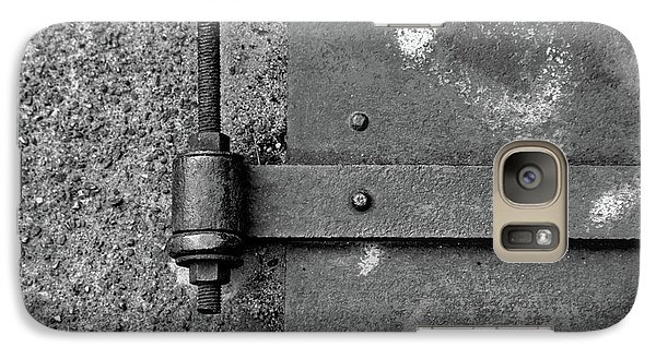 Galaxy Case featuring the photograph Straight Metal by Karol Livote
