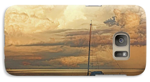 Galaxy Case featuring the photograph Stranded by HH Photography of Florida
