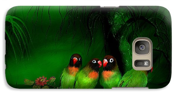 Strange Love Galaxy S7 Case by Carol Cavalaris
