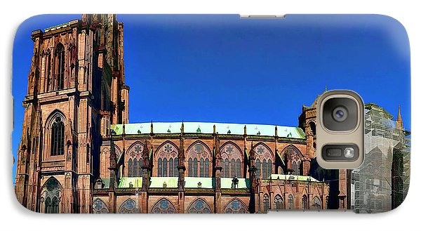 Galaxy Case featuring the photograph Strasbourg Catheral by Alan Toepfer