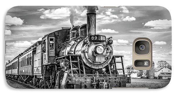 Galaxy Case featuring the photograph Strasburg Canadian National 89 by Nick Zelinsky