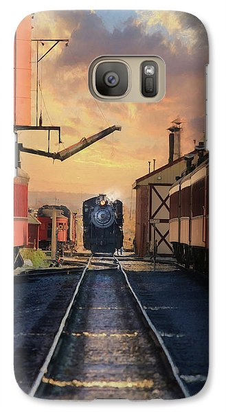 Galaxy Case featuring the photograph Strasburg Railroad Station by Lori Deiter