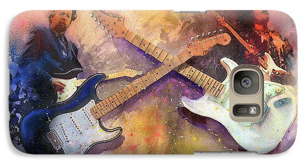 Eric Clapton Galaxy S7 Case - Strat Brothers by Andrew King