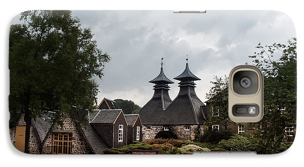 Galaxy Case featuring the photograph Strathisla Whisky Distillery Scotland #3 by Jan Bickerton