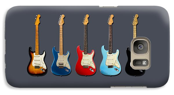 Guitar Galaxy S7 Case - Stratocaster by Mark Rogan