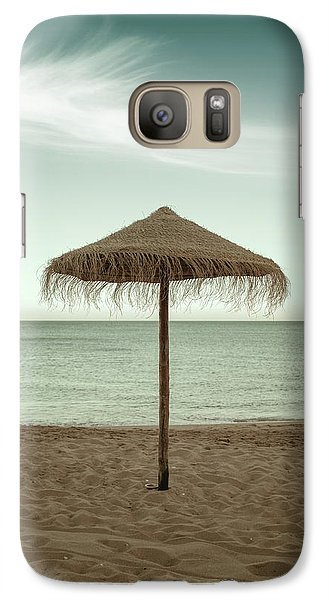 Galaxy Case featuring the photograph Straw Shader by Carlos Caetano