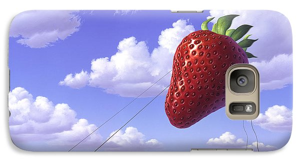 Strawberry Field Galaxy S7 Case