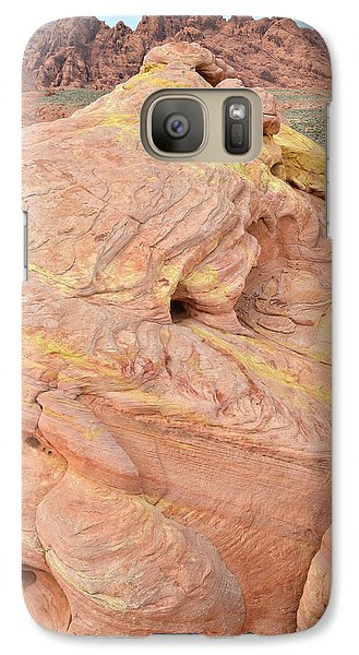 Galaxy Case featuring the photograph Strawberry Swirl In North Valley Of Fire by Ray Mathis