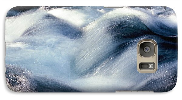 Galaxy Case featuring the photograph Stream 1 by Dubi Roman