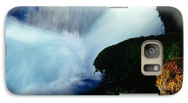 Galaxy Case featuring the photograph Stream 5 by Dubi Roman
