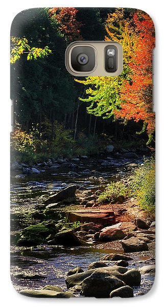 Galaxy Case featuring the photograph Stream by Tom Prendergast
