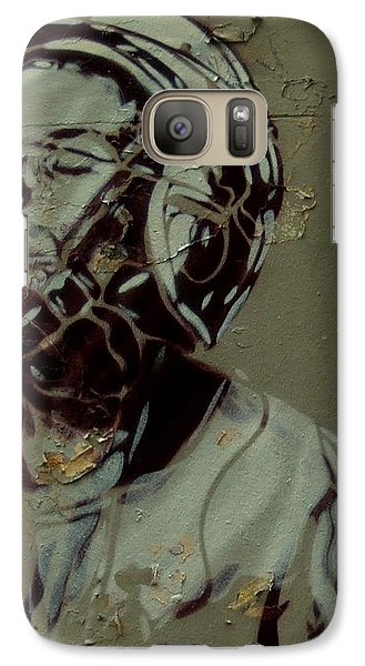 Galaxy Case featuring the painting Street Art by Sheila Mcdonald
