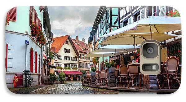 Galaxy Case featuring the photograph Street Cafe After The Rain by Dmytro Korol