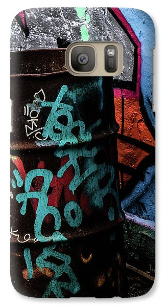 Galaxy Case featuring the photograph Street Gallery by Odd Jeppesen