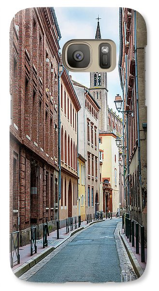 Galaxy Case featuring the photograph Street In Toulouse by Elena Elisseeva