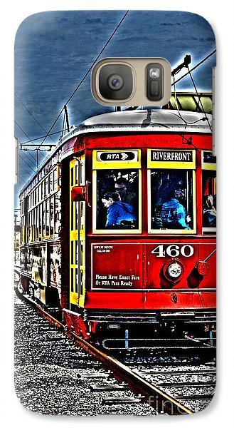 Galaxy Case featuring the photograph Streetcar by Janice Spivey