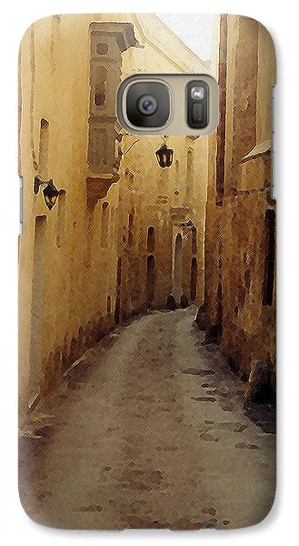 Galaxy Case featuring the photograph Streets Of Malta by Debbie Karnes
