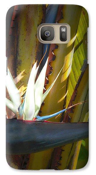 Galaxy Case featuring the photograph Strelitzia Nicolai by John Bartosik
