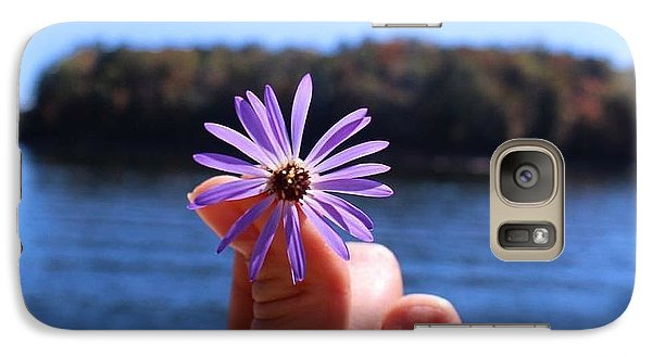 Galaxy Case featuring the photograph Stress Free by Michael Albright