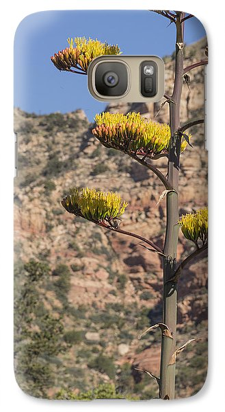 Galaxy Case featuring the photograph Stretching Tall by Laura Pratt