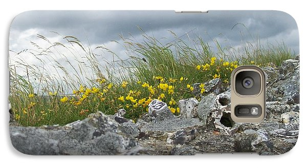 Galaxy Case featuring the photograph Striking Ruins by Mary Mikawoz