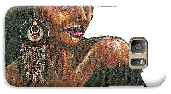 Galaxy Case featuring the painting Striking Too by Alga Washington