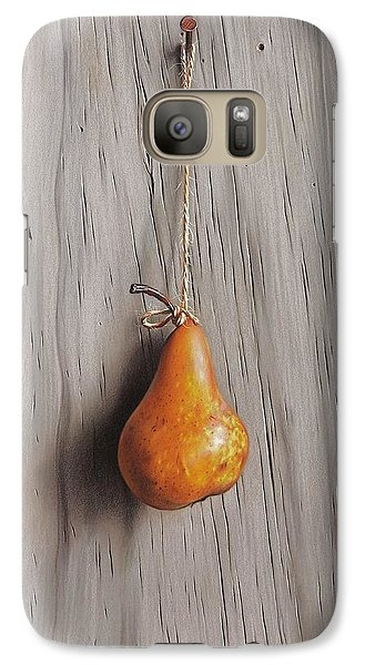 Galaxy Case featuring the drawing Stringed by Elena Kolotusha