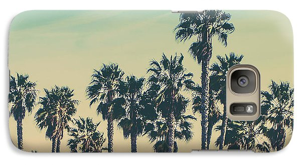 Venice Beach Galaxy S7 Case - Stroll Down Venice Beach by Az Jackson