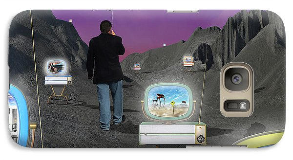 Galaxy Case featuring the photograph Strolling Down Memory Lane by Mike McGlothlen