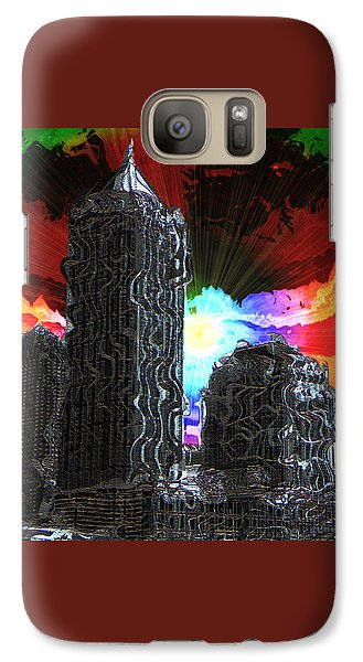 Galaxy Case featuring the photograph Structural Dissonance by Iowan Stone-Flowers