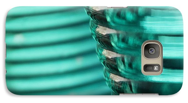 Galaxy Case featuring the photograph Studies In Glass ...bottles by Lynn England