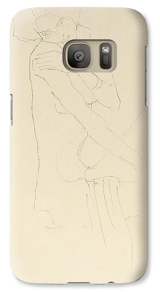 Study For Adele Bloch Bauer II Galaxy Case by Gustav Klimt