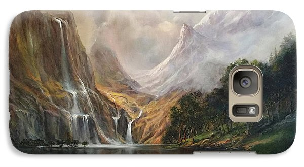 Galaxy Case featuring the painting Study In Nature by Donna Tucker