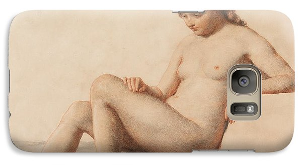Study Of A Nude Galaxy S7 Case by William Mulready