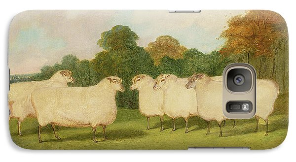 Study Of Sheep In A Landscape   Galaxy S7 Case