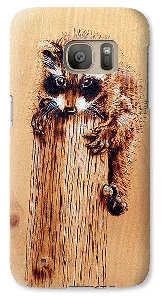 Galaxy Case featuring the pyrography Stumped by Ron Haist