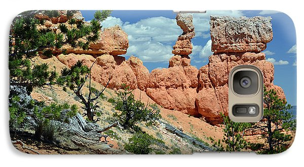 Galaxy Case featuring the photograph Stunning Bryce Canyon National Park Backcountry by Bruce Gourley
