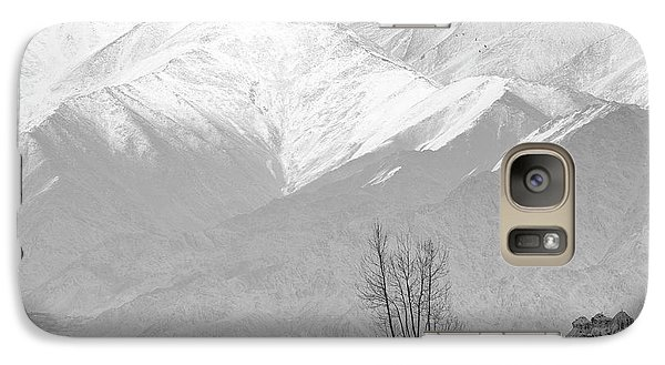 Stupa And Trees Galaxy S7 Case