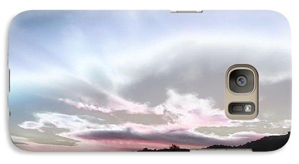 Submarine In The Sky Galaxy S7 Case