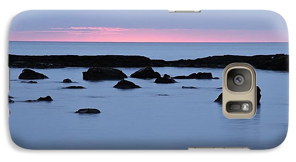 Galaxy Case featuring the photograph Subtle Sunrise by Larry Ricker