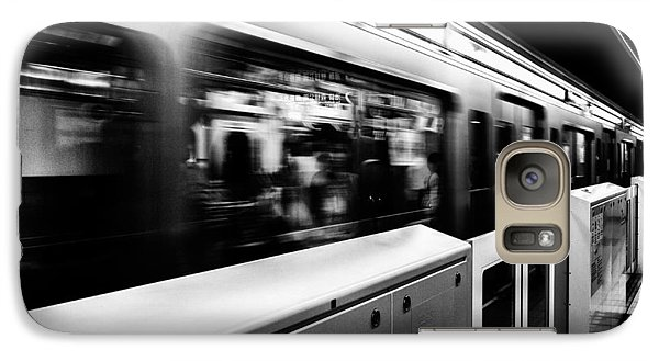 Galaxy Case featuring the photograph Subway by Hayato Matsumoto