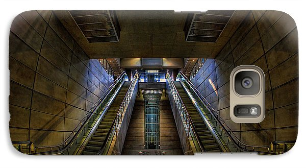 Galaxy Case featuring the photograph Subway by Stefan Nielsen