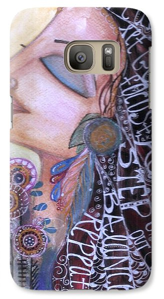 Galaxy Case featuring the painting Success Mantras by Prerna Poojara