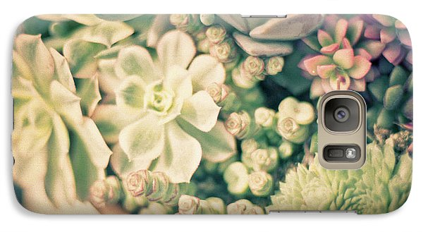 Galaxy S7 Case featuring the photograph Succulent Garden by Ana V Ramirez