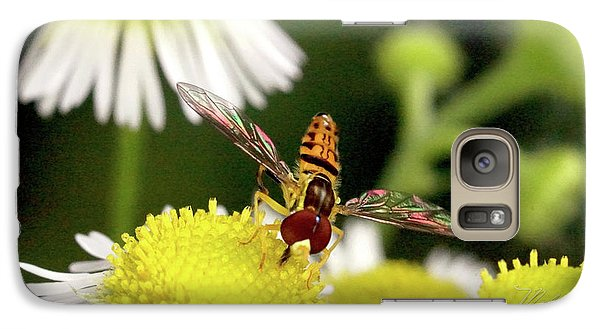Galaxy Case featuring the photograph Sugar Bee Wings by Meta Gatschenberger