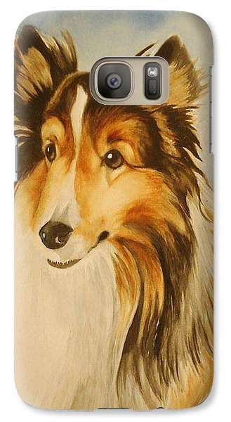 Galaxy Case featuring the painting Sugar by Marilyn Jacobson
