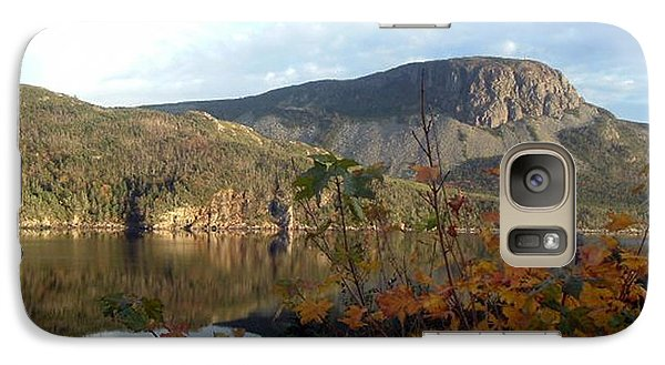 Galaxy Case featuring the photograph Sugarloaf Hill In Autumn by Barbara Griffin