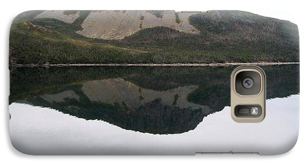 Galaxy Case featuring the photograph Sugarloaf Hill Reflections by Barbara Griffin