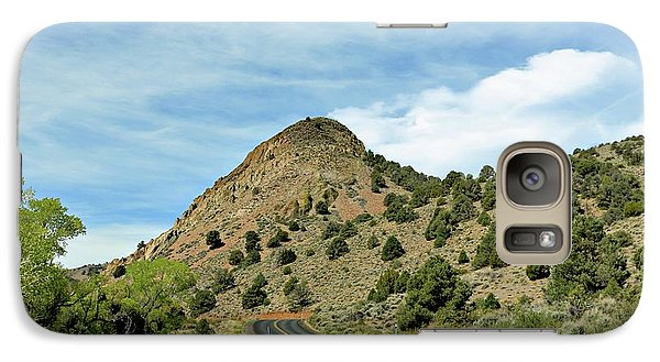 Galaxy Case featuring the photograph Sugarloaf Mountain In Six Mile Canyon by Benanne Stiens