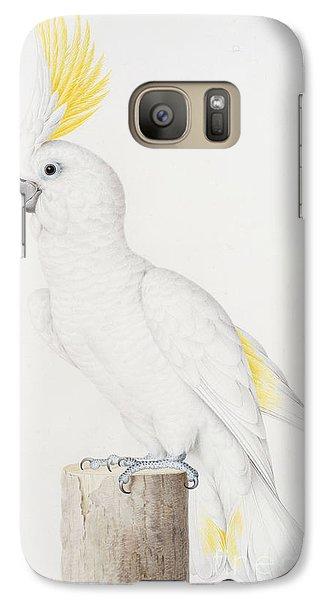 Sulphur Crested Cockatoo Galaxy S7 Case by Nicolas Robert